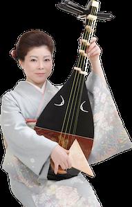 薩摩琵琶奏者 吉永鶴奏